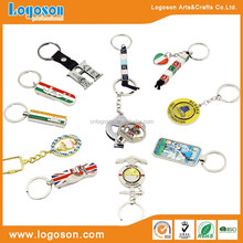 Combined types souvenir keychain tourist gifts keyring