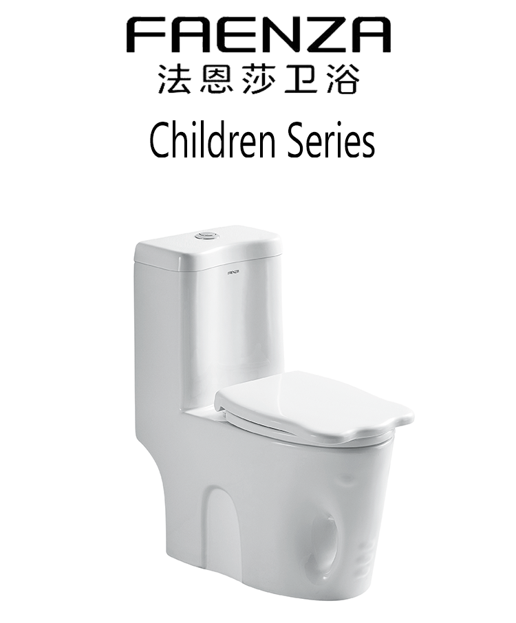 FAENZA sanitary ware children series ceramic one piece toilet children toilet bowl mini toilet