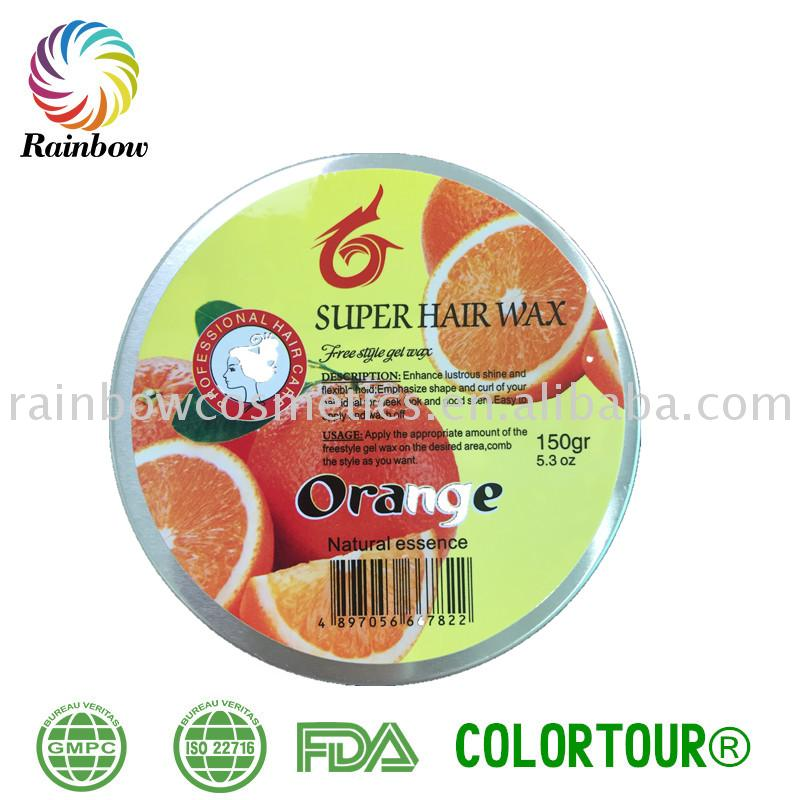 Promotional ossion hair wax