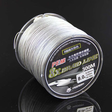 Wholesale braided wire braided fishing line 300m 8 strands lines fishing
