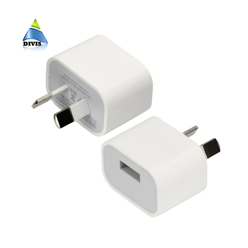 USB Power Adapter 5V 2A Australia New Zealand AU Plug Wall Charger For iPhone for Sansung Smart Phone