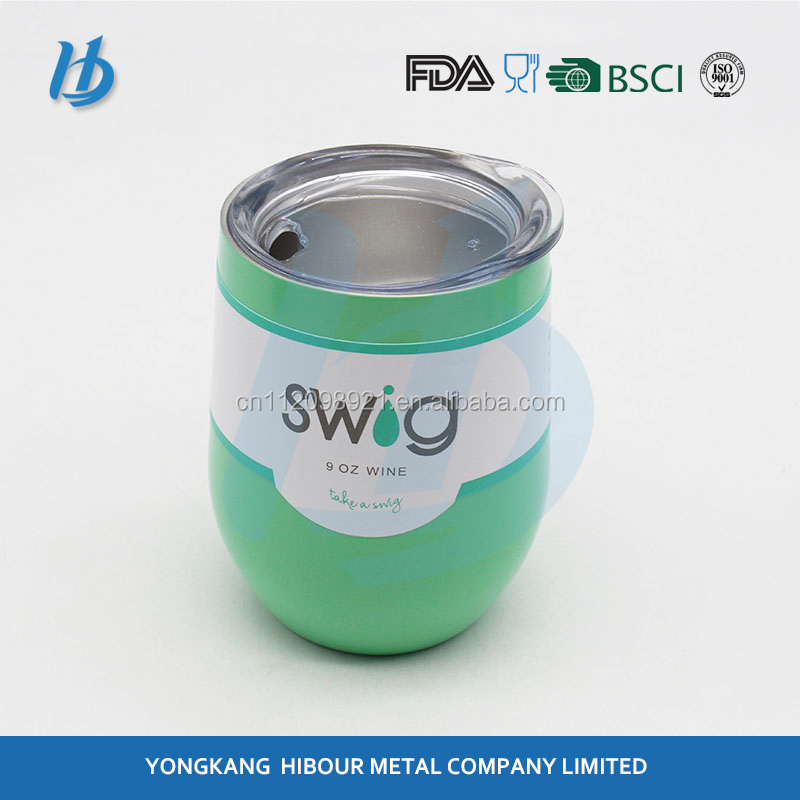 the best quality stainless steel double wall 18/8 tumblers with swig mugs and custom color