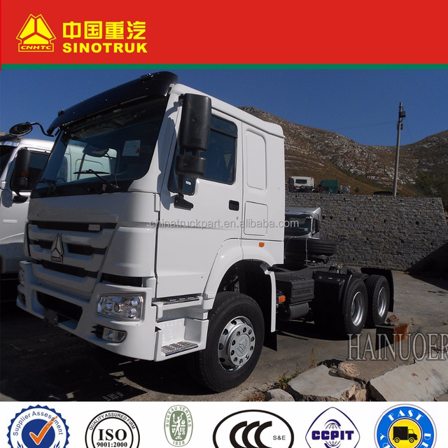 6X4 HW76 one sleeper Tractor Truck SINOTRUK HOWO could deal with all kinds of truck problems