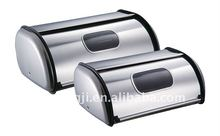 LB-BWB2-A Metal Bread Box with window