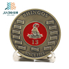 Jiabo custom cheap metal embossment Pakistan army challenge coin