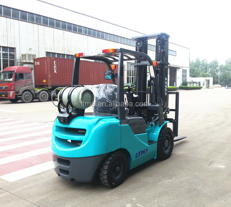 China 2.5 ton lpg forklift truck