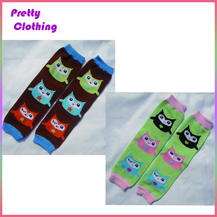 Cotton wholesale prints leggings ballet leg warmers for toddler cute baby socks