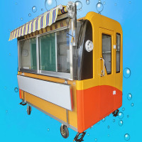 New Arrival Mobile Kitchen Customized Food Cart Truck Outdoor