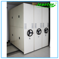 Increase Storage Capacity Bank/Archives Compact Metal Mobile Storage Solutions