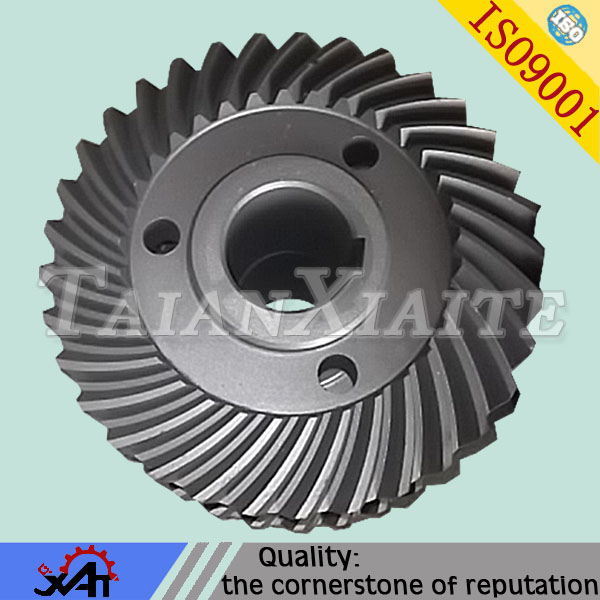 Forged alloy steel machinery engine parts gear