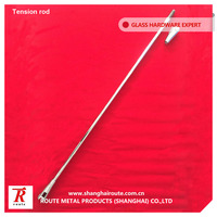 Route stainless steel tension rod