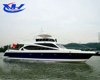 speed fishing luxury yacht type luxury motor fiber glass sport yacht for sale