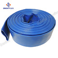 3 inch 6 inch blue lay flat pvc water discharge hose