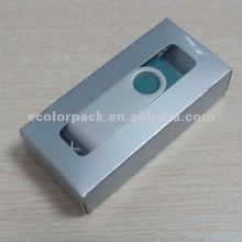 clear pvc window USB box