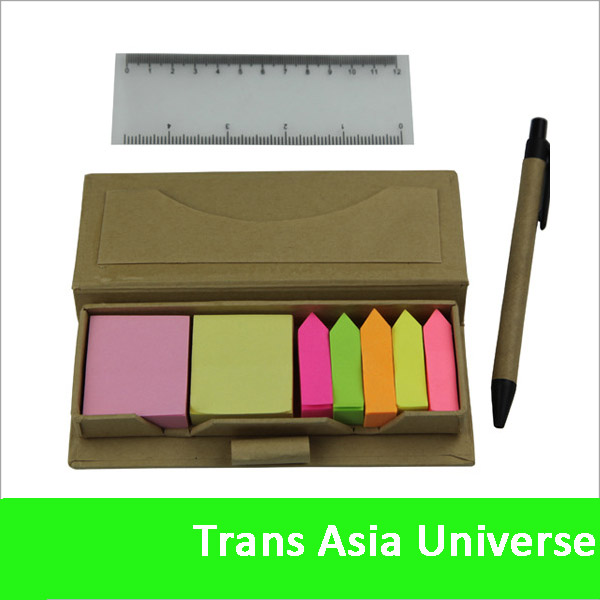 2014 Hot Sale Sticky Notes and Flags in Compact Case