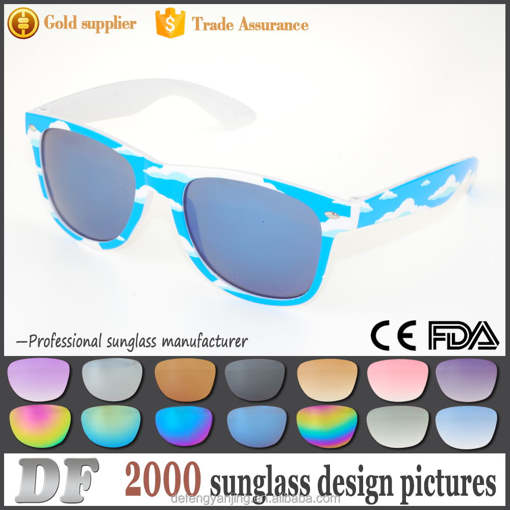 Factory best price millions sold pictured frame fruit polarized sports american flag luxury sunglasses polic
