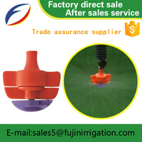 Ivory Coast Plastic sprinkler gun irrigation side effects of delay spray with CE certificate