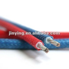 Silicone rubber insulated wire with fiber glass braided - UL3122