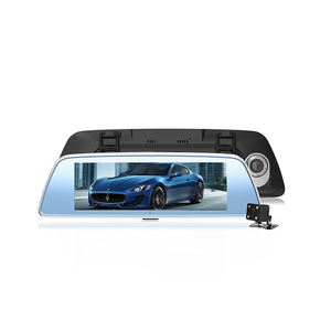 4g 1080p Full Hd Android Mirror Camera Dash Board Rearview Gps Voiture Car Dvr Black Box