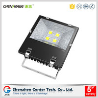 CE RoHS approved tempered glass cover material led flood light 200w