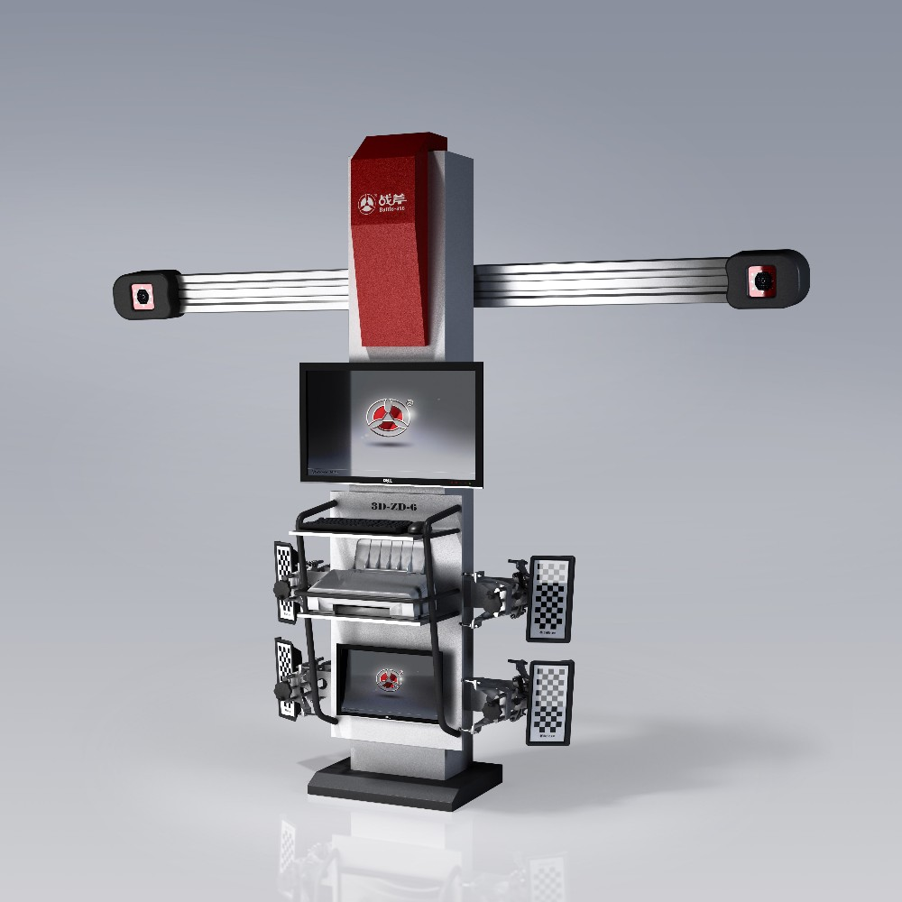 Battle-Axe hot selling 3d wheel alignment with clamps equipped with wheel alignment clamp