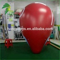 Rooftop Customized Advertising Inflatable Helium Red Balloon for Party Activities