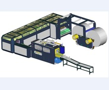 Roll paper sheet cutting machine A4 copy paper production line A4 paper making machine