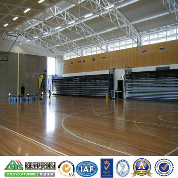Steel Frame Prefabricated Steel Structure Badminton Hall Building