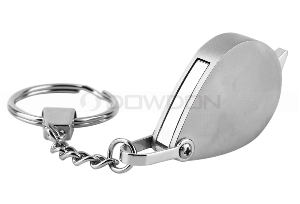 Folding Pocket Size Magnifier with Keychain 30mm Magnifying Glass