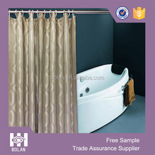 Unique and fancy cationic jacquard Shower Curtains, hotel shower curtains