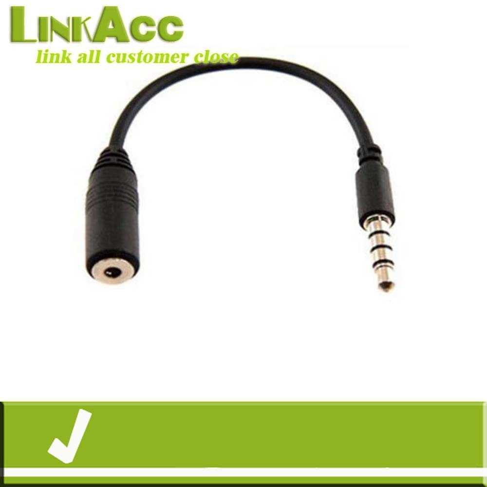 Linkacc4sT 3.5mm Plug M to 2.5mm Jack F Headphone Earphone Audio Extension Wire Cable HIGH