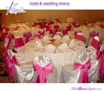cheap universal chair covers, satin self-tie chair covers, pillow case chair covers