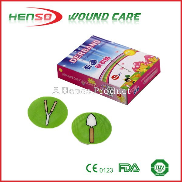 HENSO Circle Spot Round Band Aids with CE ISO