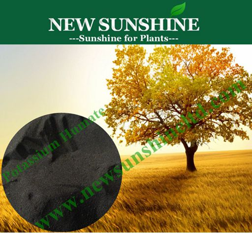 Super Potassium Humate contains 80% Water soluble Humic acid