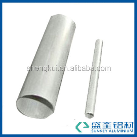 aluminium profile with silvery white for aluminium extrusion tube in Zhejiang China