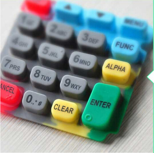 Customize Conductive Silicone +Plastic Waterproof POS Keypad