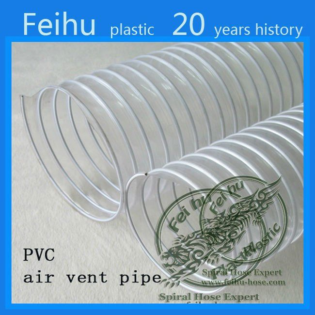 China high quality PVC Flexible ventilation hose pipe Clothes Dryer Parts exhaust vent pipe