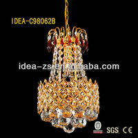 C98062B-220 crystal modern lighting and chandelier,modern kevin reilly altar pendant light lamp,hotel crystal hanging light
