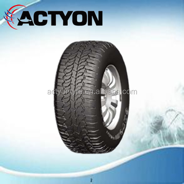 Tubeless radial 285/70r17 light truck tyre
