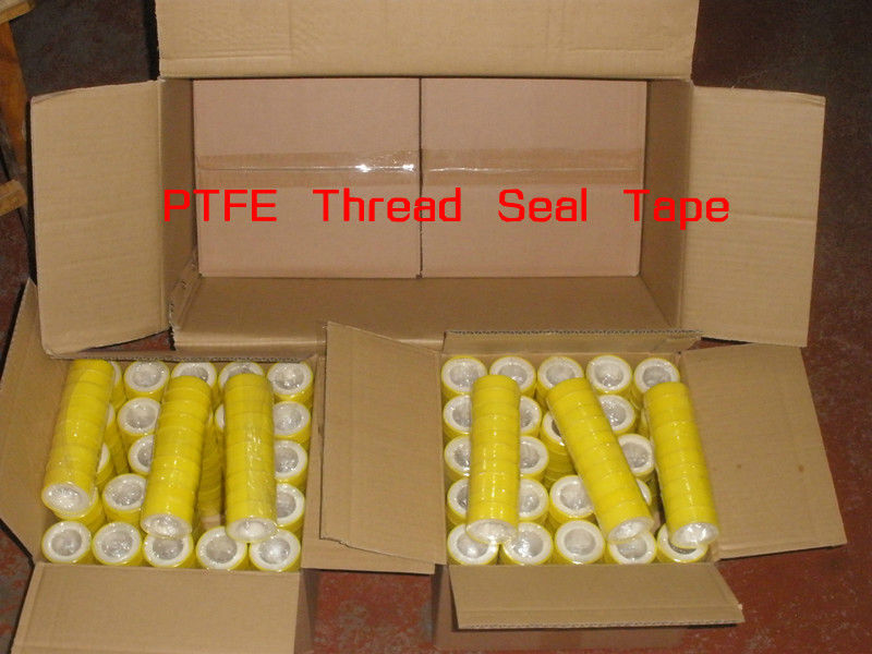yellow spool ptfe thread sealing tapes for plumbing
