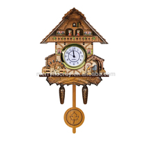 2017 New Wooden Wall Table Clock The Time Co Cuckoo Clock