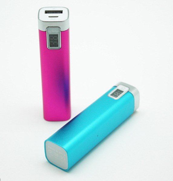 Wholesale instant mobile phone charger moblie powerbank 2600 mAh