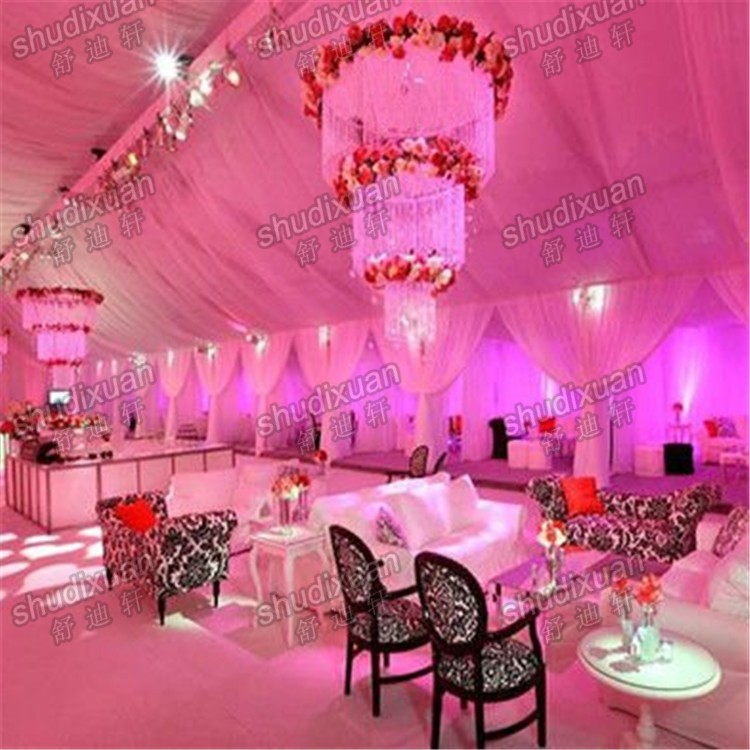 Modern portable pipe and drape for party
