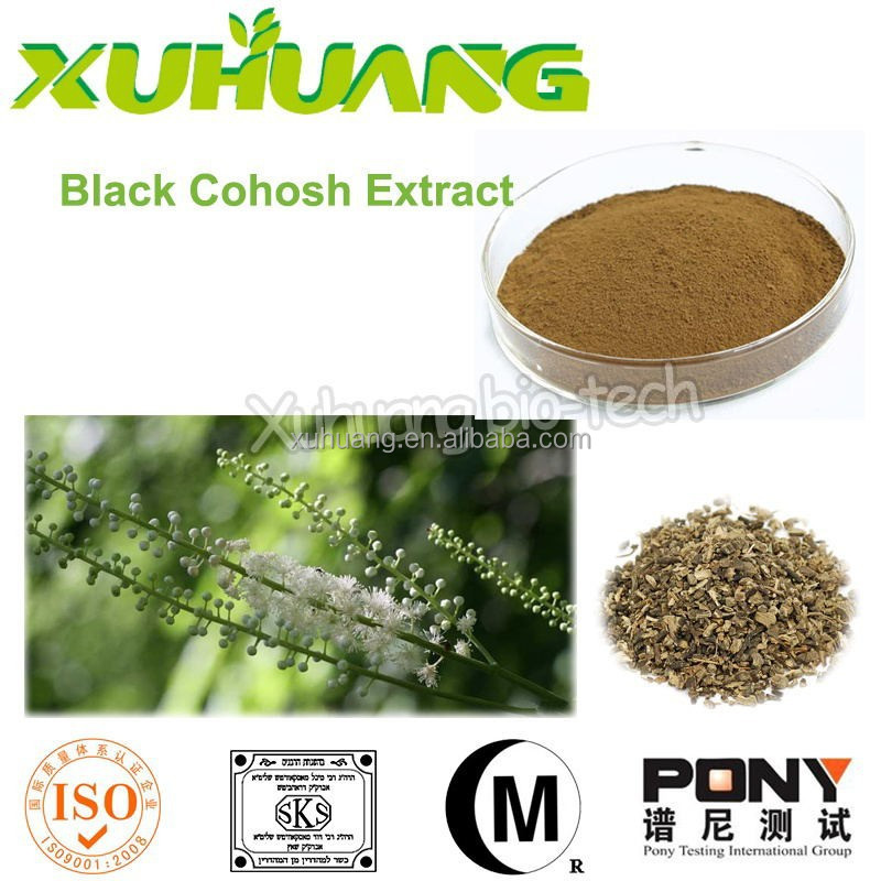 pure black cohosh extract/black cohosh roots/black cohosh p.e