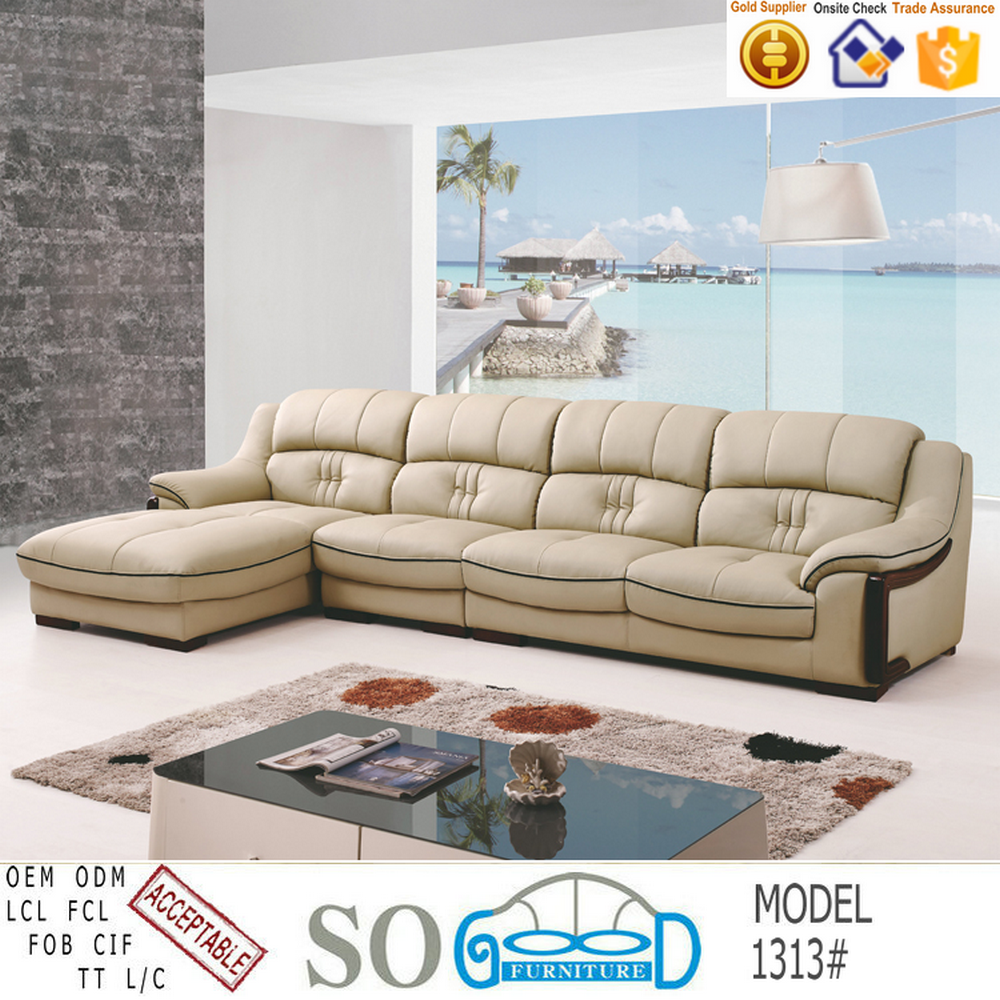 Home Furniture Modern Corner Sofa Design