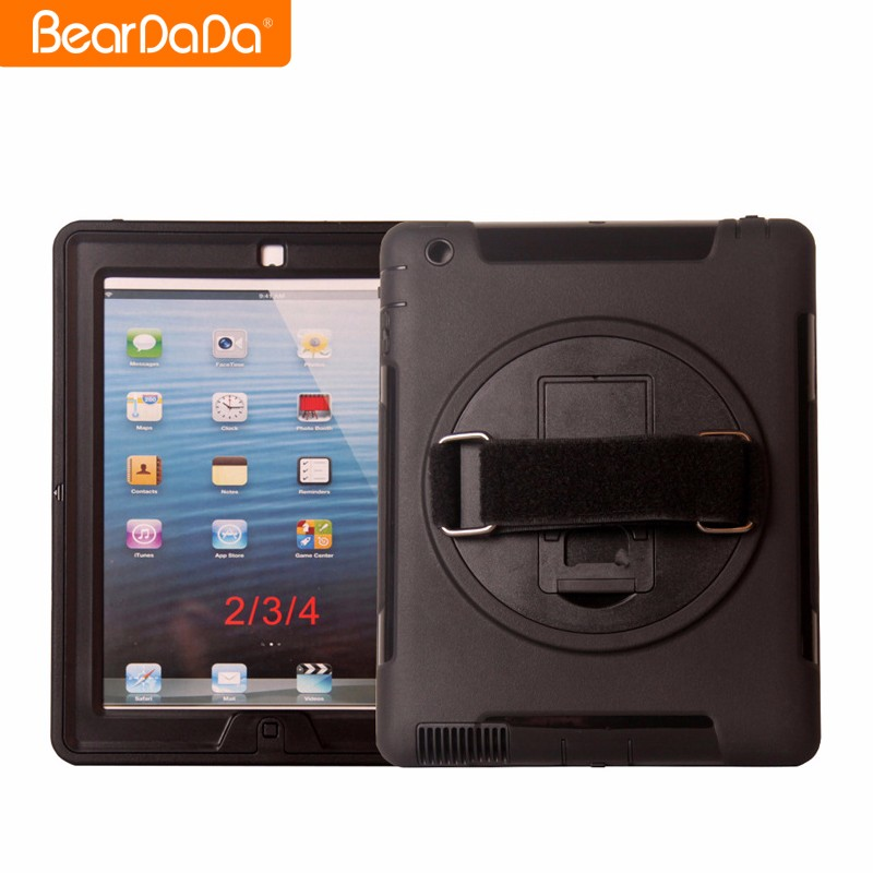 Popular Item 360 Degree Rotating hand strap 360 for ipad 4 case