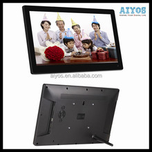Led IPS Touch Screen Wifi Network 15 inch Lcd Advertising Digital Signage Player