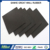 double sides fabric impression rough surface black rubber sheet