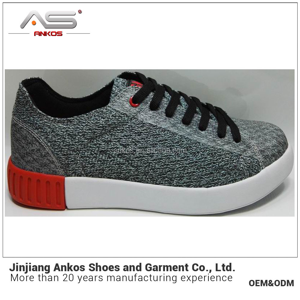 new arrival sneaker male low PU upper casual shoe from Anko shoe factory