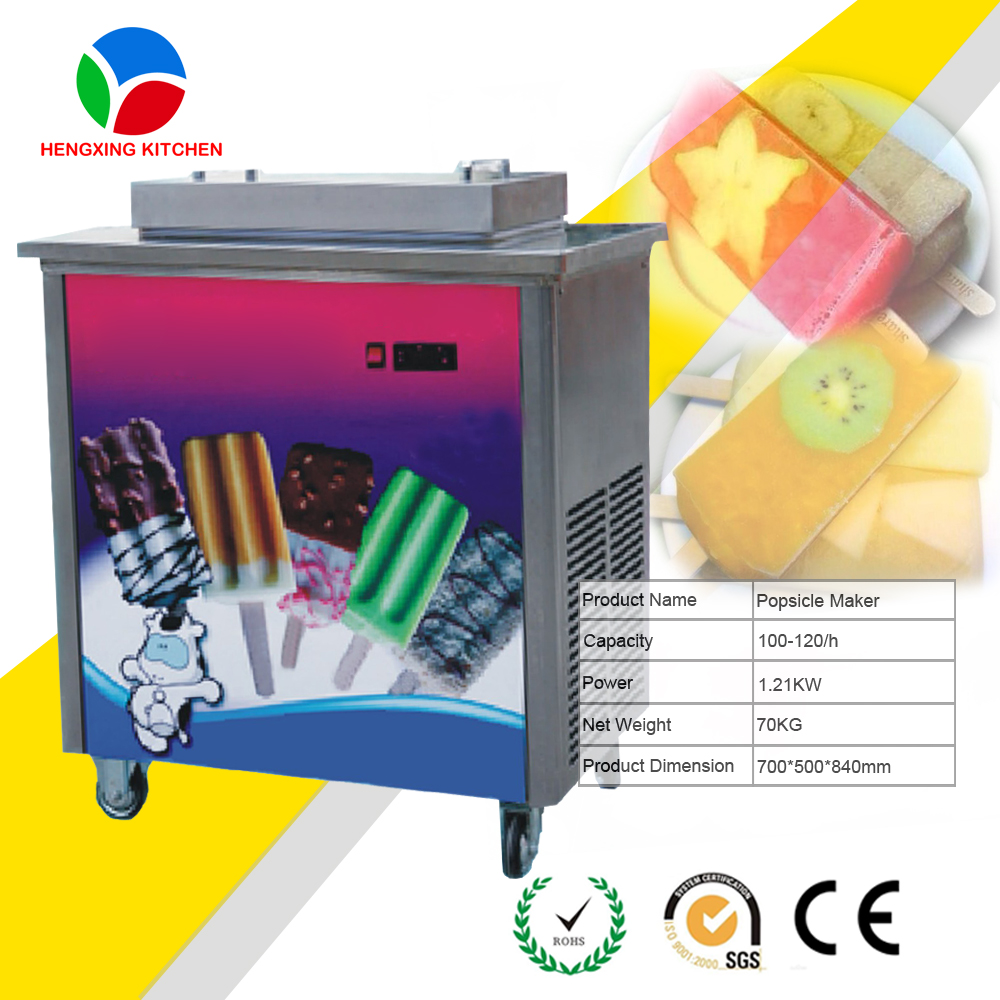 Fully Automatic and High Capacity Popsicle and Ice Cream Freezer